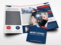 Company Profile Tri Fold Brochure Template By Owpictures On