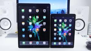 ipad size comparison ipad pro vs ipad air 2 speed test and comparison youtube