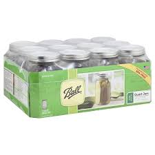 Ball Canning Altitude Chart Ball Mason Jars Wide Mouth Quart 12 Ct From Kroger