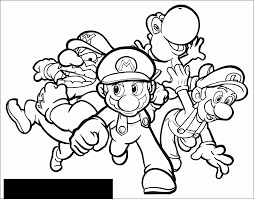 Coloriages Mario Bros 1 Coloriage Super Mario Coloriages Pour