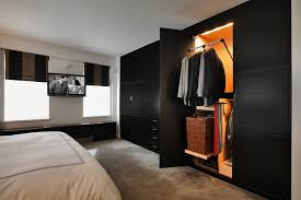 bedroom wardrobe closet.  Wardrobe Large Black BuiltIn Wardrobe Closet For Bedroom W