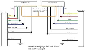 2004 ford f250 trailer plug wiring diagram f350 diesel super duty Ford Starter Wiring Diagram 2004 ford f250 trailer plug wiring diagram f350 diesel super duty tow mirror enthusiast diagrams o w