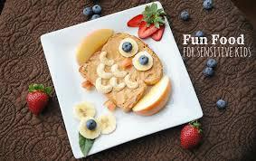 fun kid food to help sensory children