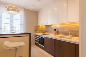 Renovated Kitchen Before And After Renovation Of Old Apartment Into The Luxurious