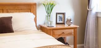 solid wood nightstands  vermont woods studios