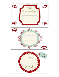 diy holiday coupon book one artsy mama page 3 coupon designs 4 6