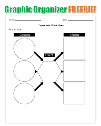 Free Graphic Organizer Printable Cause And Effect Chart