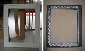 Medicine Cabinet Frame Diy Framed Chalkboard Medicine Cabinet Jenna Burger
