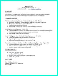 Civil Engineer Resume Sample There are so many Civil engineering resume samples you can download 33