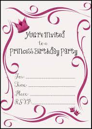 Girl Birthday Invitation Template Free Birthday Party Invitation Templates Fabulous Girl Party