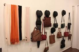 how to hang purses on a wall best purse image ccdbb