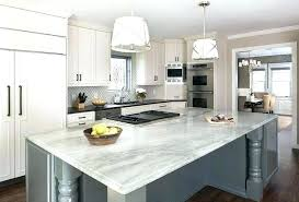 white quartz countertops. White Quartz Countertops Cost Gray Kitchen Island With Turned Legs And Single Pendants Pure Price I