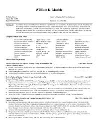 Writing Resume Samples Technical Writing Resume Examples Examples Of
