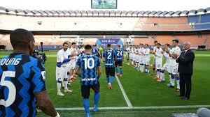 Serie A, Inter accolta dalla passerella d'onore della Sampdoria: l'idea è  di Ranieri - Eurosport