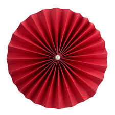 Paper Rosette Flower Cheap 12 Inch Red Paper Rosettes Flower For Sale On Oitems Com