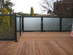 glass fence panels