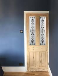 etched p2 design pine malton door