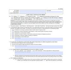 40 Free Divorce Papers Printable Template Lab Custom Divorce Paper Template
