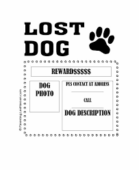 Lost Pet Flyer Maker Amazing 48 Lost Pet Flyers [Missing Cat Dog Poster] Template Archive