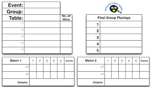 tennis round robin schedule generator table tournament template layout