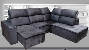 sofa retratil. transform sofa canto retratil preto also classic home interior design with o
