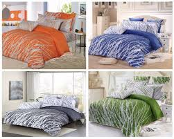 trees 100 cotton bedding set duvet cover pillow shams twin full