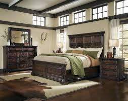 whiskey oak bedroom set