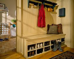Shoe Rack With Bench And Coat Rack shoe rack bench Entry Traditional with airy backpack storage bead 34