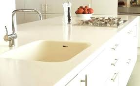 laminate vs solid surface countertops combined with