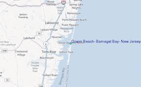 Tide Chart Lavallette Nj Ocean Beach Barnegat Bay New Jersey Tide Station Location