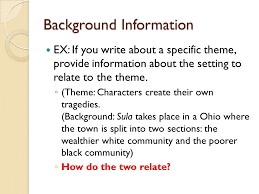 five paragraph essay writing introduction the introduction of an  6 background information