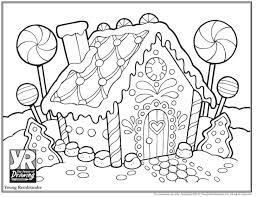 Free printable recipe with picture directions for your preschool or kindergarten students! 22 Marvelous Gingerbread House Coloring Sheet Thespacebetweenfeaturefilm