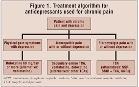 Snri Comparison Chart The Use Of Antidepressants For Chronic Pain