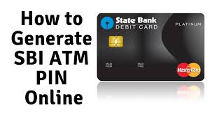 how to generate atm pin for sbi debit