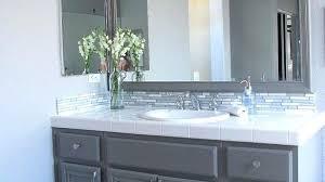 Bathroom Bathroom Vanity Amazing Cabinets Within Magnificent My Enchanting Refinishing Bathroom Vanity