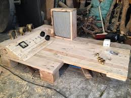 how to make pallet furniture. Exellent Pallet How To Make Furniture From Pallets Con Steampunk Pallet Desk With  Server Part 1 Throughout