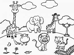 Coloring Pages Of Zoo Animals Nauhoituscom All About 10k Top
