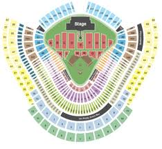 Seating Chart For Paul Mccartney Dodger Stadium Seating Chart Seat Numbers Dodger Seating