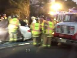 emergency workers at the scene of the fatal garden state parkway crash in december