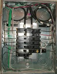 split bus electrical panels no main breaker charles buell Sub Panel Breaker Box Wiring Diagram nicely wired sub panel Basic Electrical Wiring Breaker Box