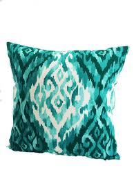 green throw pillows emerald green