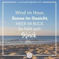 Wind Im Haar Sonne Im Gesicht I Meer Spruch I Küstenglück
