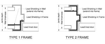 door jamb detail plan. Lead Lined Hollow Metal Frames Door Jamb Detail Plan