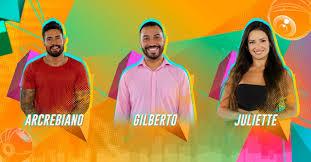 Enquete segundo paredão BBB 21: Arcrebiano x Gilberto x Juliette - Quem sai?
