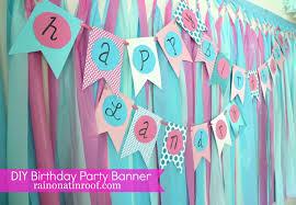 home design simple diy birthday banner tutorial diy birthday