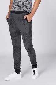 Character Pants Shop Grey Sp Character Batman Print Full Length Jogger Pants For Men Nisnass Uae