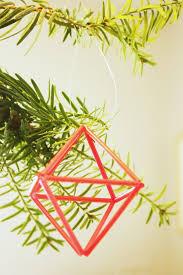 Diy Geometrische Strohprismen Schnell Und Einfach Moderne
