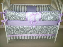 purple crib sheets purple baby bedding set bedroom cool gray and purple crib bedding set with