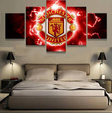 manchester united wall art