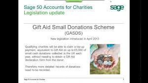 Sage 50 Accounts 2013 For Charities And Non Profit Organisations